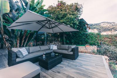 Villa VUE MER Roquebrune Cap Martin, 165 m² belle architecture et paysage exceptionnel.