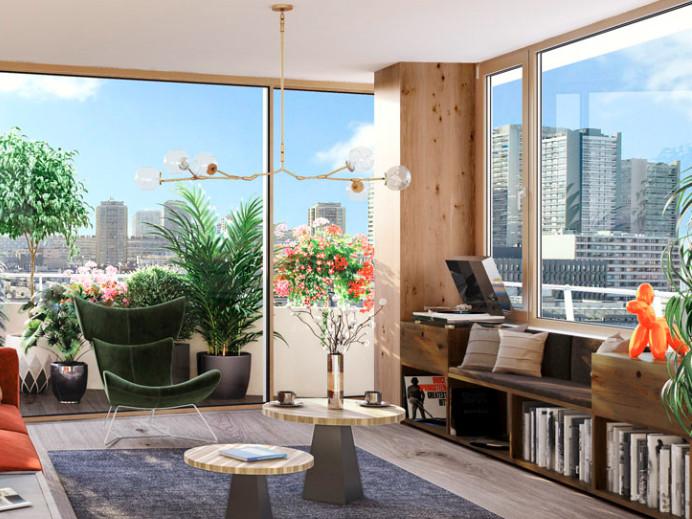 Appartement à vendre à Paris 13e Arrondissement, Paris - 2 374 000 € - photo 2